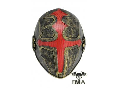 "FMA Halloween Wire Mesh ""Cross the king""  Mask (Gold) tb610  Fre"