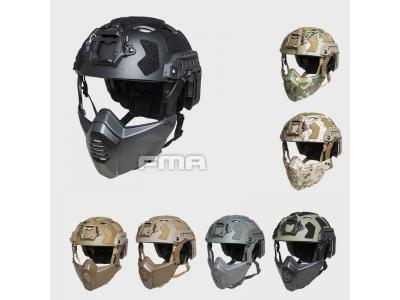 FMA FAST SF Tactical HELMET With Half Mask TB1365A