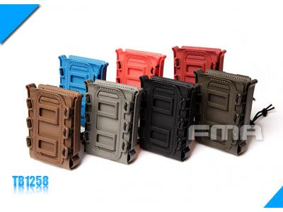 FMA SOFT SHELL SCORPION MAG CARRIER BK (For 7.62)BK/DE/FG/OD/BL/PK/OR TB1258 Free Shipping