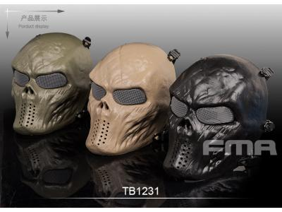 FMA Full face skeleton mask of terror BK/DE/OD TB1231 free shipping