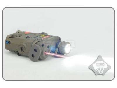 FMA AN-PEQ-15 Upgrade Version LED White Light + Red Laser With IR Lenses FG TB0070 free shipping