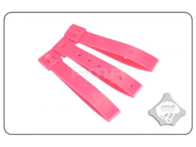 "FMA 5""Strap buckle accessory (3pcs for a set)pink TB1031-PK free shipping"