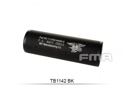 "FMA  ""Navy""+ -14mm Silencer 107MM BK TB1142-BK free shipping"