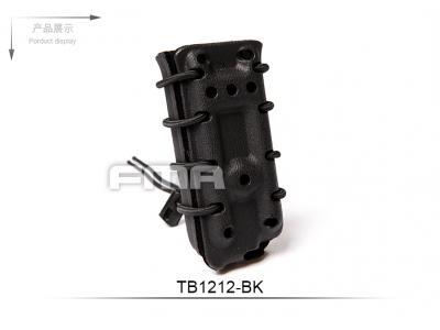 FMA Scorpion pistol mag carrier- Single Stack for 45acp BK with flocking TB1212-BK free shipping