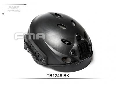 FMA Special Force Recon Tactical Helmet BK TB1246-BK free shipping