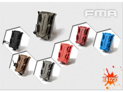 FMA SOFT SHELL SCORPION MAG CARRIER BK/DE/FG/OD/BL/RED/OR (for Single Stack)TB1257 free shipping