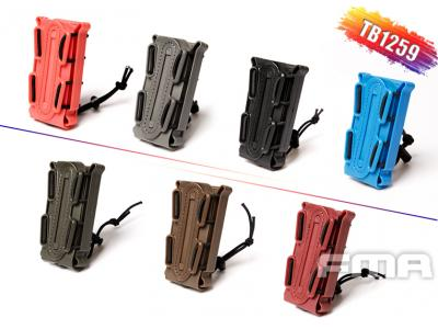 FMA SOFT SHELL SCORPION MAG CARRIER BK (for 9mm)BK/DE/FG/OD/BLUE/RED/OR TB1259 free shipping