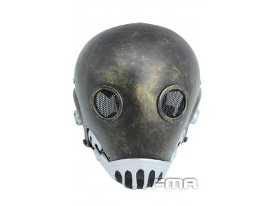 "FMA Halloween Wire Mesh ""hell jazz""Golden edition Mask tb670 Fre"