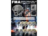 FMA Ballistic Helmet with 1:1 protecting pat TB1010 free shipping